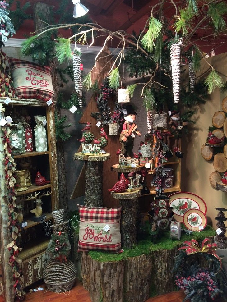 Woodlands Christmas Display from our Atlanta Showroom at the