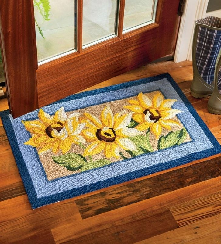 Superbe Sunflower Kitchen Rugs As Bathroom Rugs Unique Pink Rug