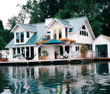 Floating houses portland oregon oh do i love this Floating homes portland