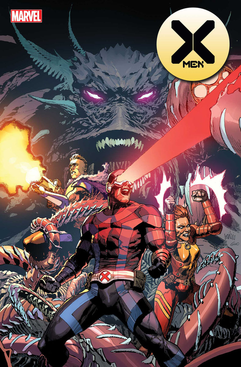 X Men 2 By Jonathan Hickman Leinil Francis Yu When An Island Full Of Unspeakable Horrors Appears On The Horiz Marvel Comics Covers Marvel Comics Funny Marvel