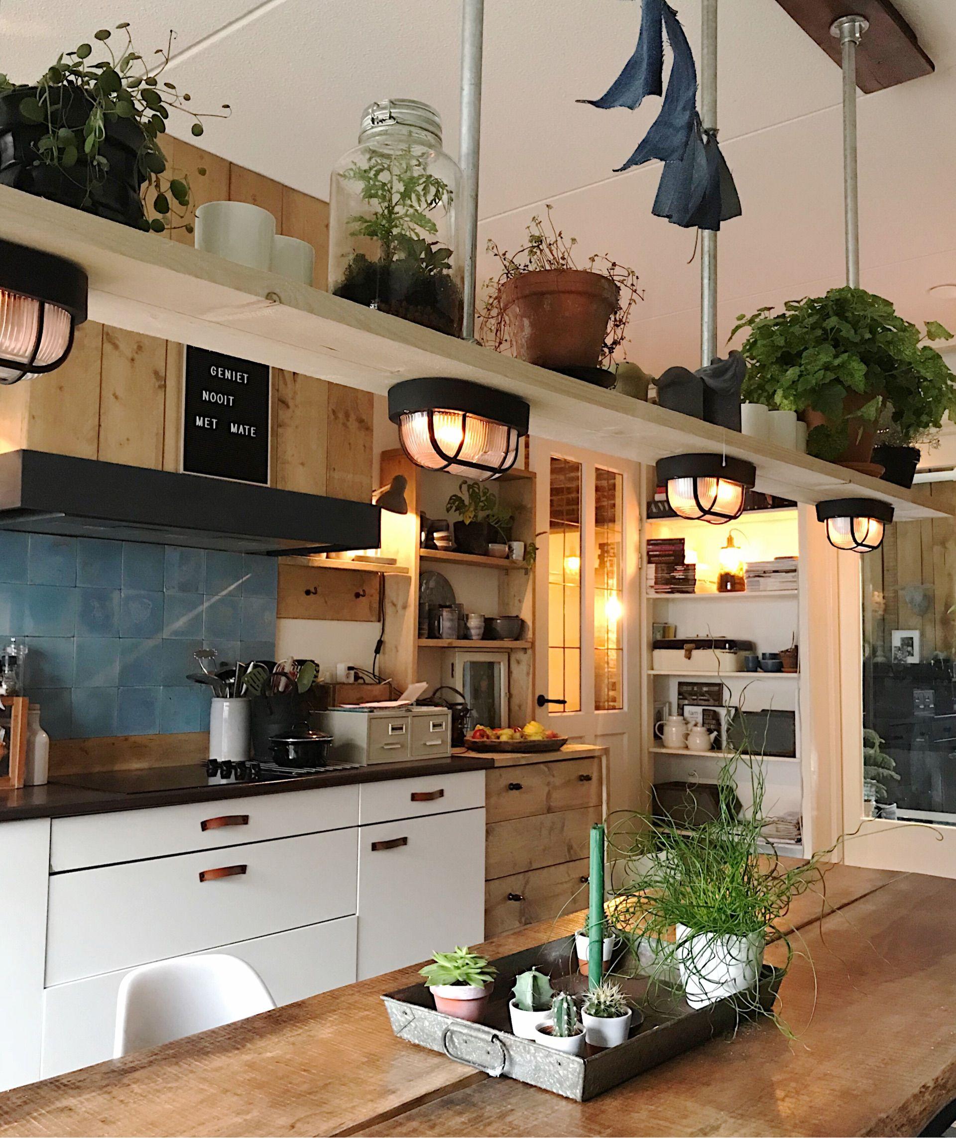 47 Incredibly Inspiring Industrial Style Kitchens: Keuken - Binnenkijken Bij Mijnhuis__enzo