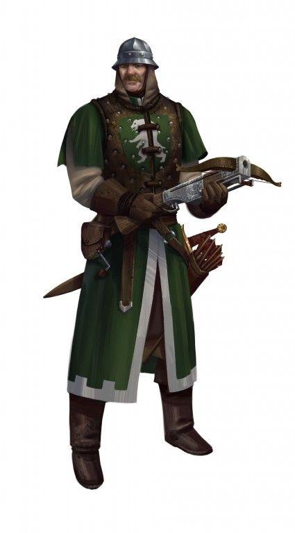 Der Drachenpforter Schütze - Ein neuer Charakter für die Reichsarmee