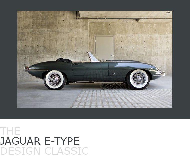 March's Design Classic, the 1961 Jaguar E-Type