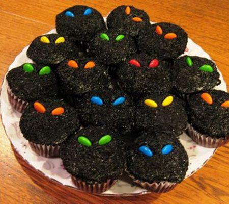 halloween inspired cupcakes
