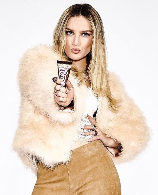 Little Mix's Perrie for Cornetto ❤️