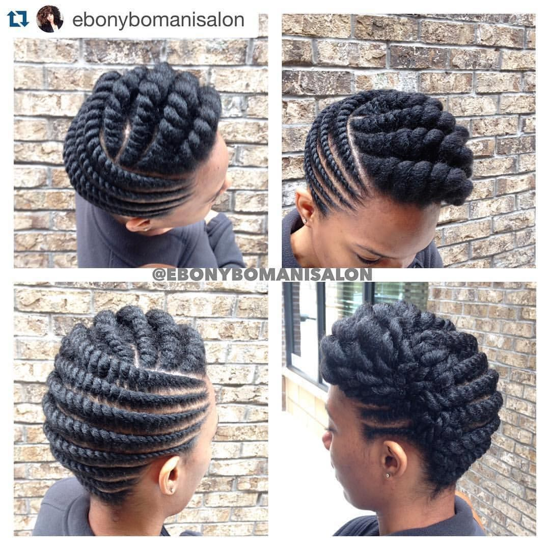 Hairstyles for fine straight hair over cornrows natural hair