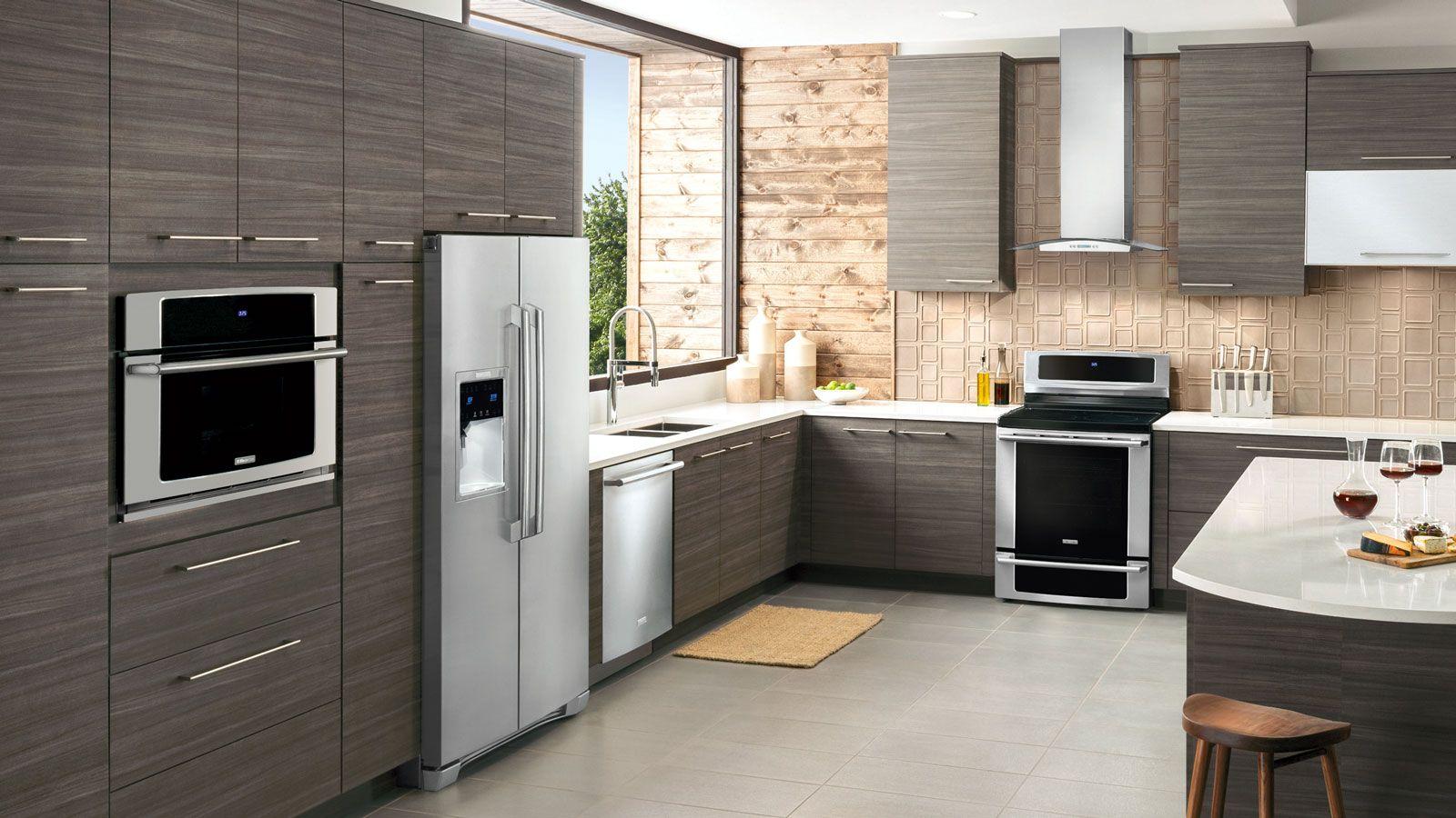 Pin By Paige Lutter On Remodel Electrolux Kitchen Modern Kitchen Kitchen