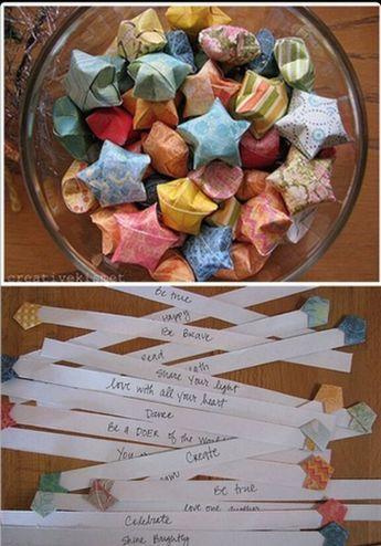 Faltsterne, papiersterne, basteln, deko, geschenkideen - feuertonne selber machen