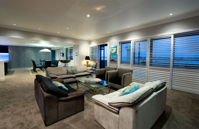Newcastle Penthouse Alterations by Webber Architects (Newcastle AUS) #interiordesign