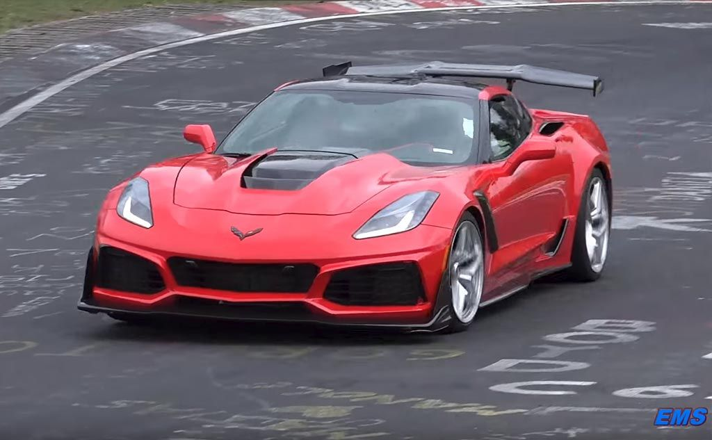 Video The 2019 Corvette Zr1 Is Back At The Nurburgring Corvette