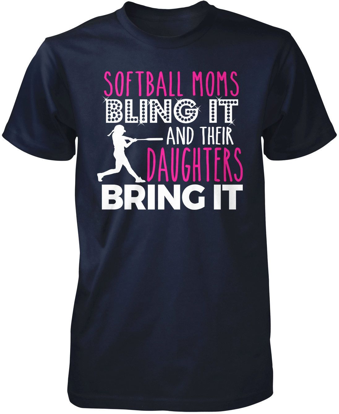 Softball Moms Bling it & Their Daughters Bring it