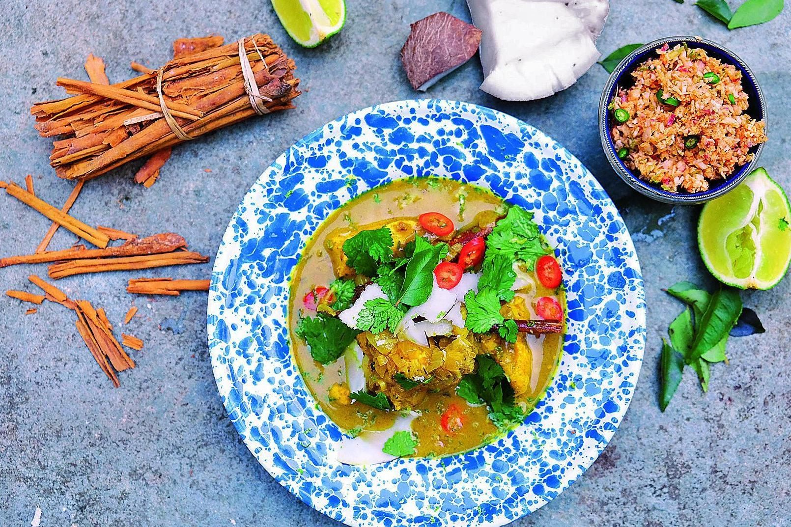 Tart London How to make Sri Lankan chicken curry