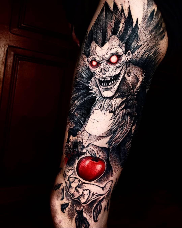 california anime tattoo artist