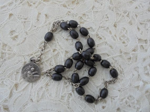 French religious item signed by Nkempantiques on Etsy