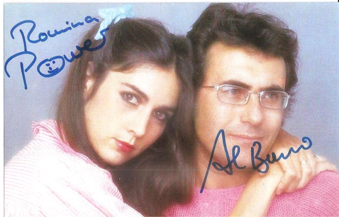 Avtograf Al Bano I Romina Pauer Al Bano Romina Power