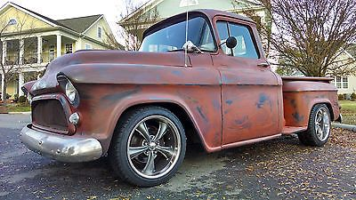 1957 Chevy Truck 3100 Resto Mod Rat Rod Perfect Patina