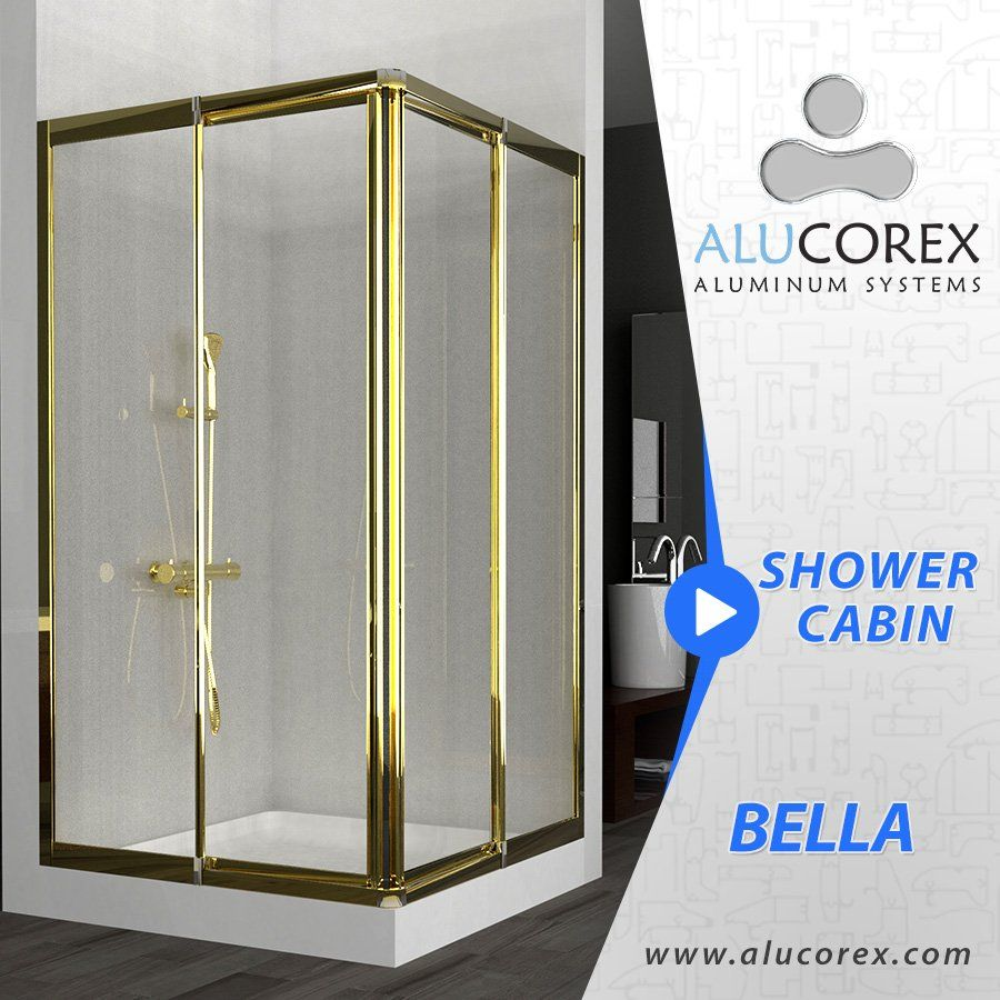 Alucorex Aluminum Alucorex Twitter Shower Cabin Home Decor