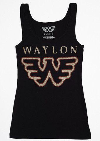a4866e8ab89 Waylon Jennings Flying W Women s Tank Top - Waylon Jennings Merch Co ...