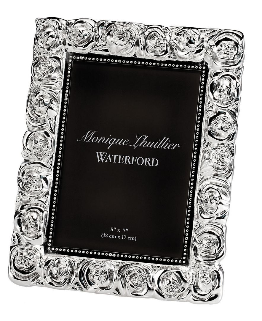 Monique lhuillier waterford picture frame sunday rose 5 x 7 explore sunday rose frames decor and more jeuxipadfo Choice Image
