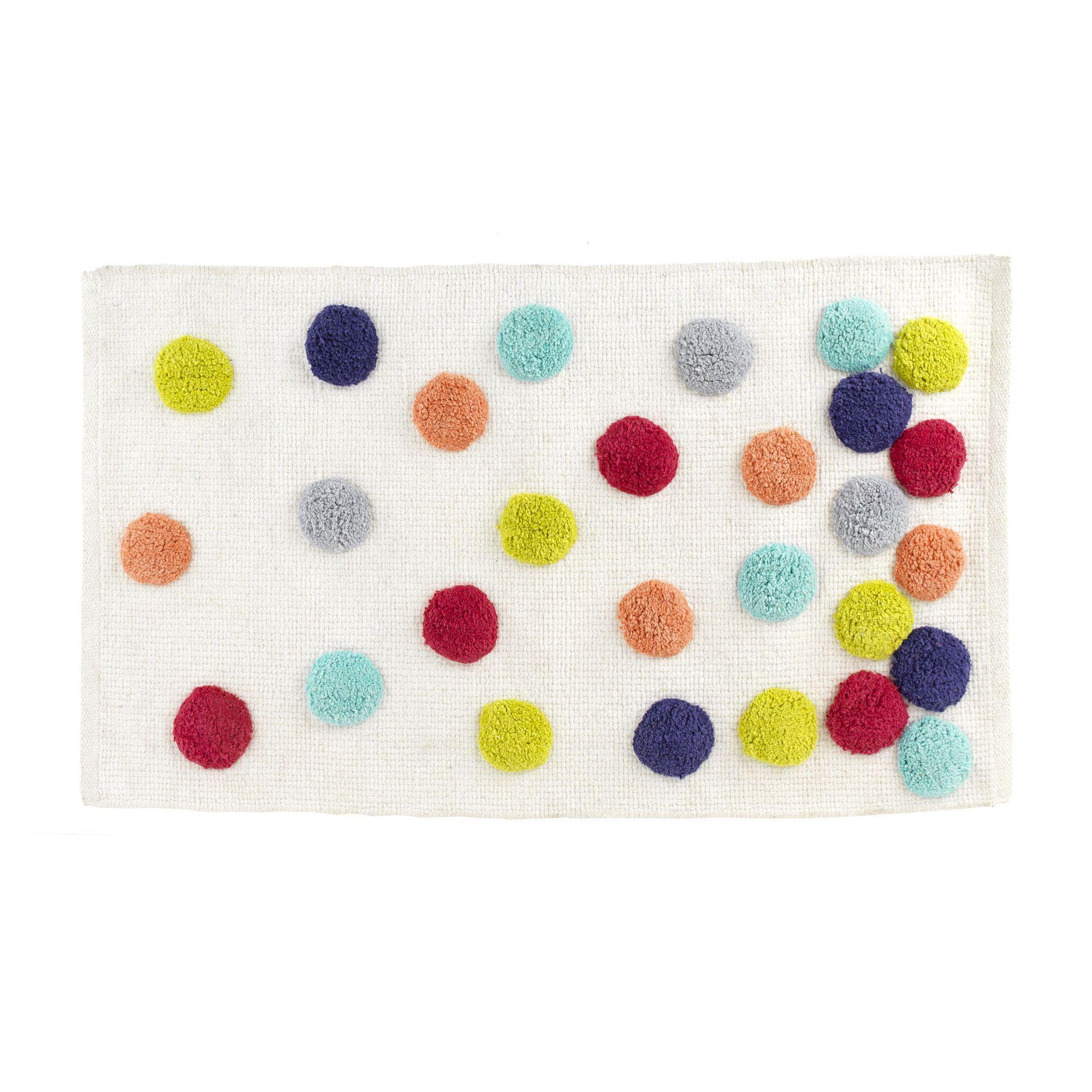Oakland Salle De Bain ~ tapis de bain multicolore confetti les tapis de bain et