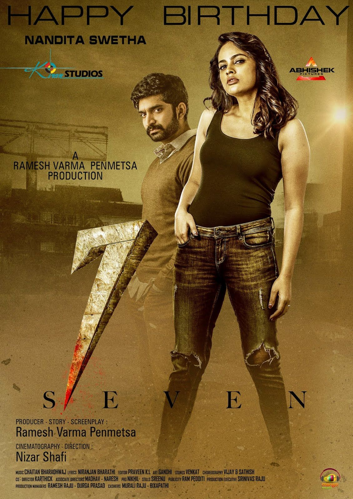 7 (Seven) 2020 Hindi Dubbed 480p HDRip 400MB MKV in 2020