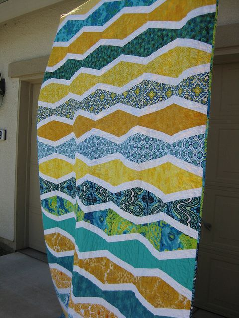 First Wave by rebeccasrags, via Flickr - - ?Oh, Fransson design?