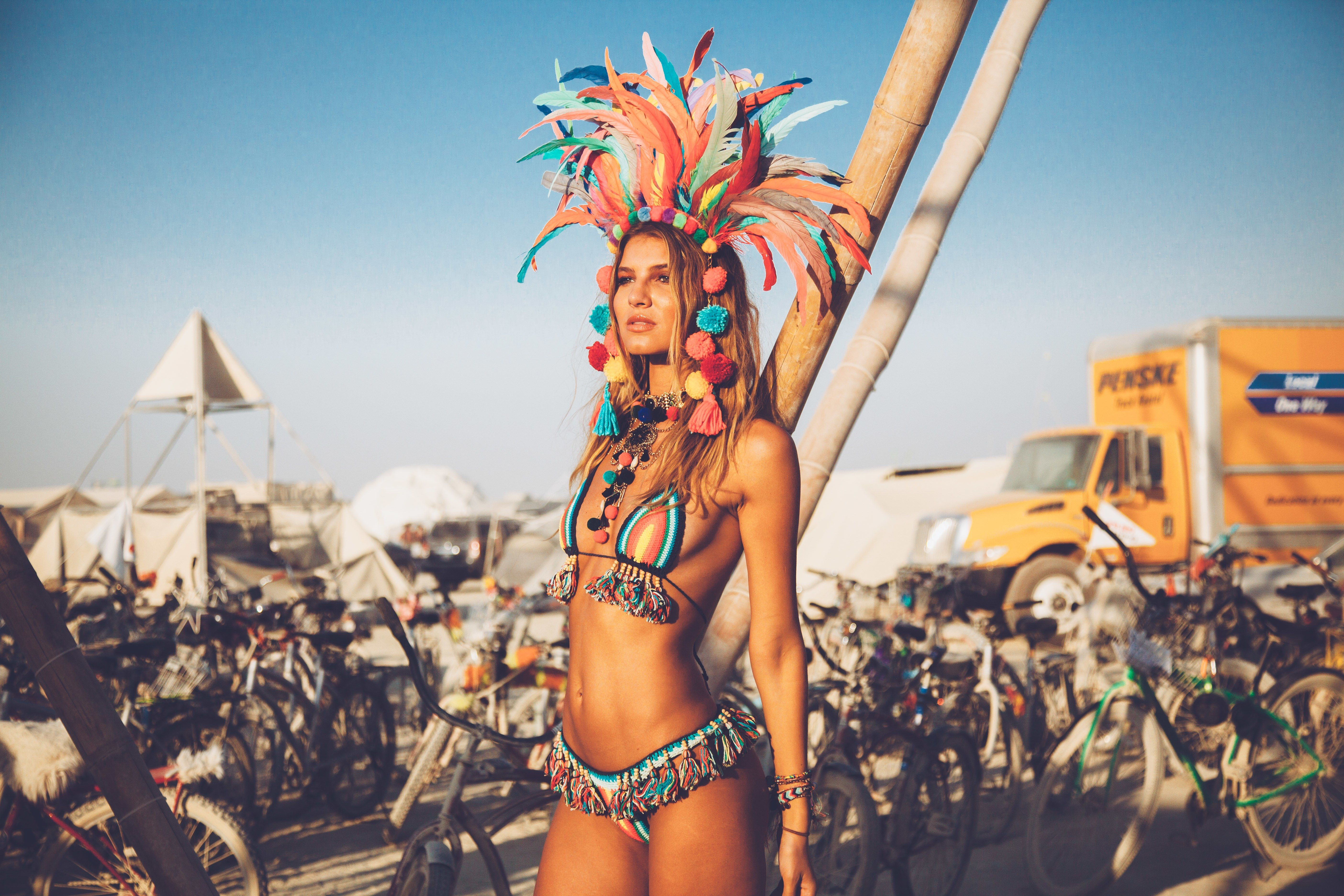 Exclusive: Inside Burning Man 2017, the World's Most ... Outrageous Outfits From Burning Man