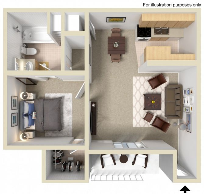 Looking To Economize Your Living This Is The Floorplan For You Apartments For Rent Apartment Communities Forrent