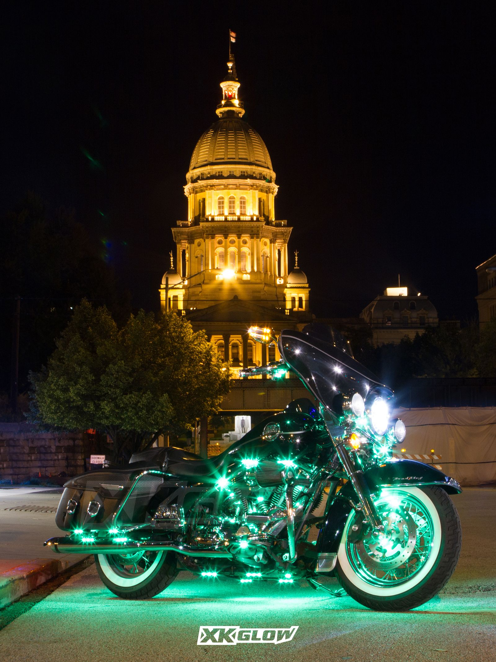 Pin by XKGLOW on Motorcycle Motorcycle led lighting, Led