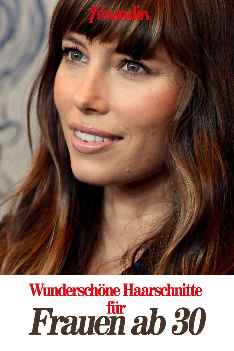 Frisurentrend Die Schonsten Haarschnitte Fur Frauen Ab 30 Haarschnitt Frauen 30er Frisuren Und Frisuren