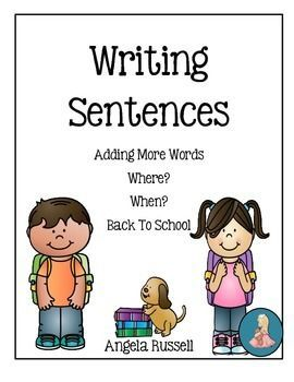Writing sentences is important to young writers. Providing ...