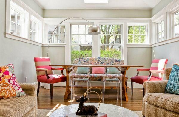 Esszimmerst hle design f r eine spannende und verspielte raumgestaltung esszimmer pinterest - Ecktisch esszimmer ...