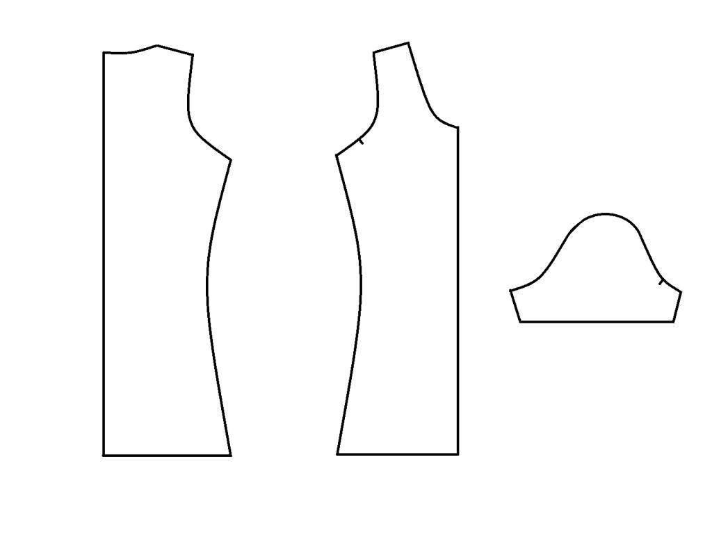 grundschnitt für ein tshirt  kleidung nähen t shirt