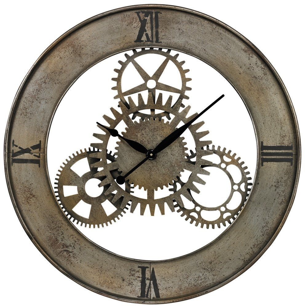 Incroyable Amazon.com: Sterling Industries 26 8666 Industrial Cog Wall Clock: Home U0026  Kitchen