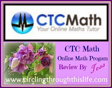 CTC Online Math Program review from Circling Through This Life