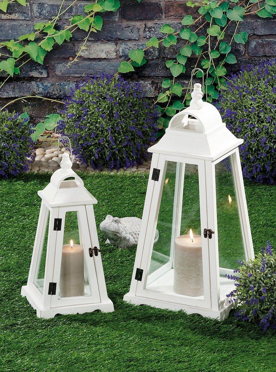 Lanterne Da Esterno.Set 2 Lanterne Da Giardino Nuove Art 41265 Consegna Gratis
