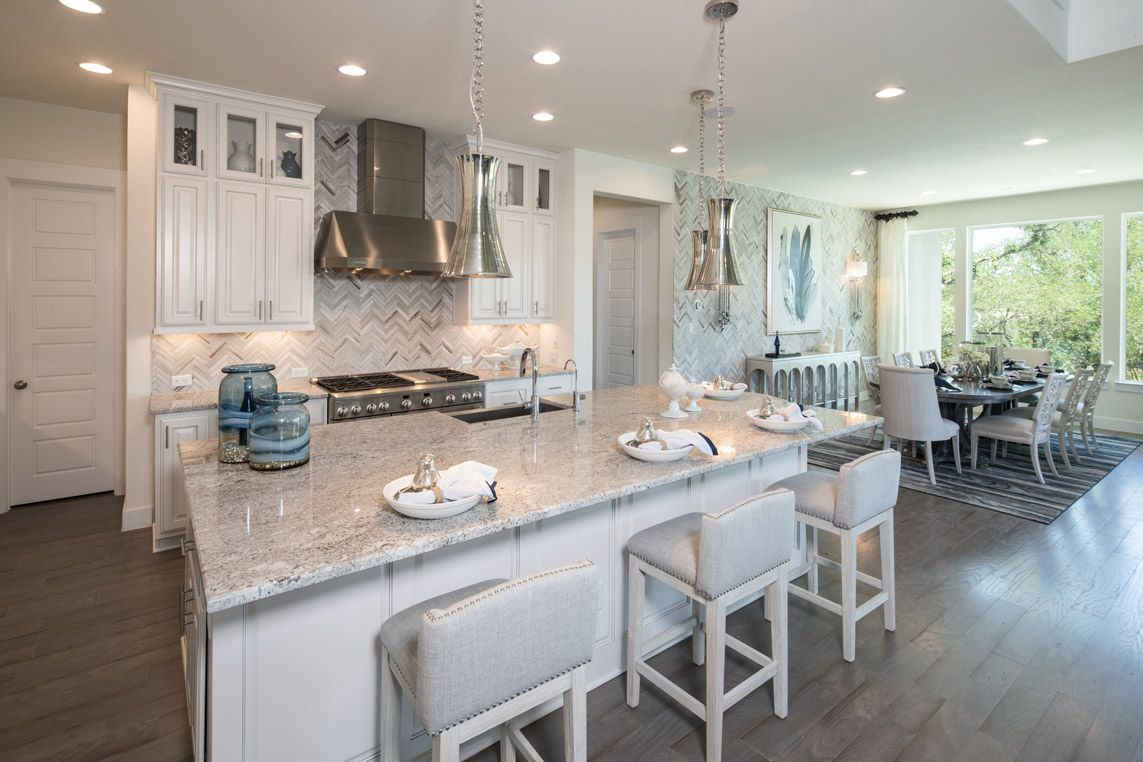 Start Your New Home Search With Trendmaker Homes Luxury Kitchen Design Modern Farmhouse Kitchens Farmhouse Kitchen