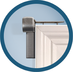 The Quickest And Easiest Solution To Hanging Your Curtain Rods No Screws No Nails No Damage Curtains Without Nails Hanging Curtain Rods Curtain Rod Holders