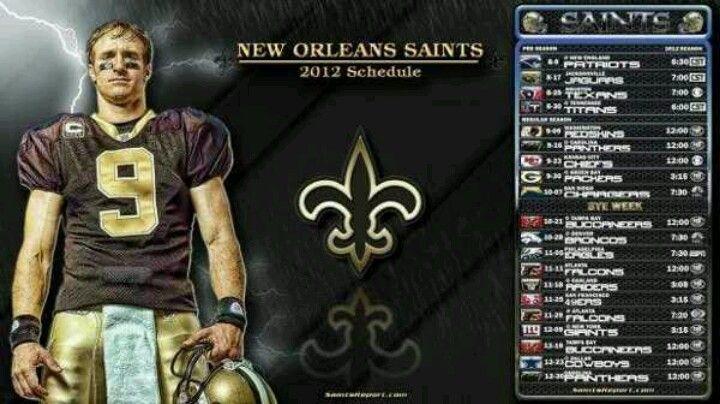 Schedule 201213 new orleans saints new orleans saints