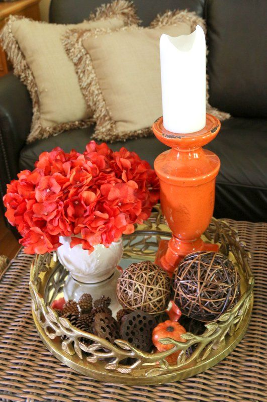 Fall Decorating: More Ideas for You - My Kentucky Living-like a lot of her pictures