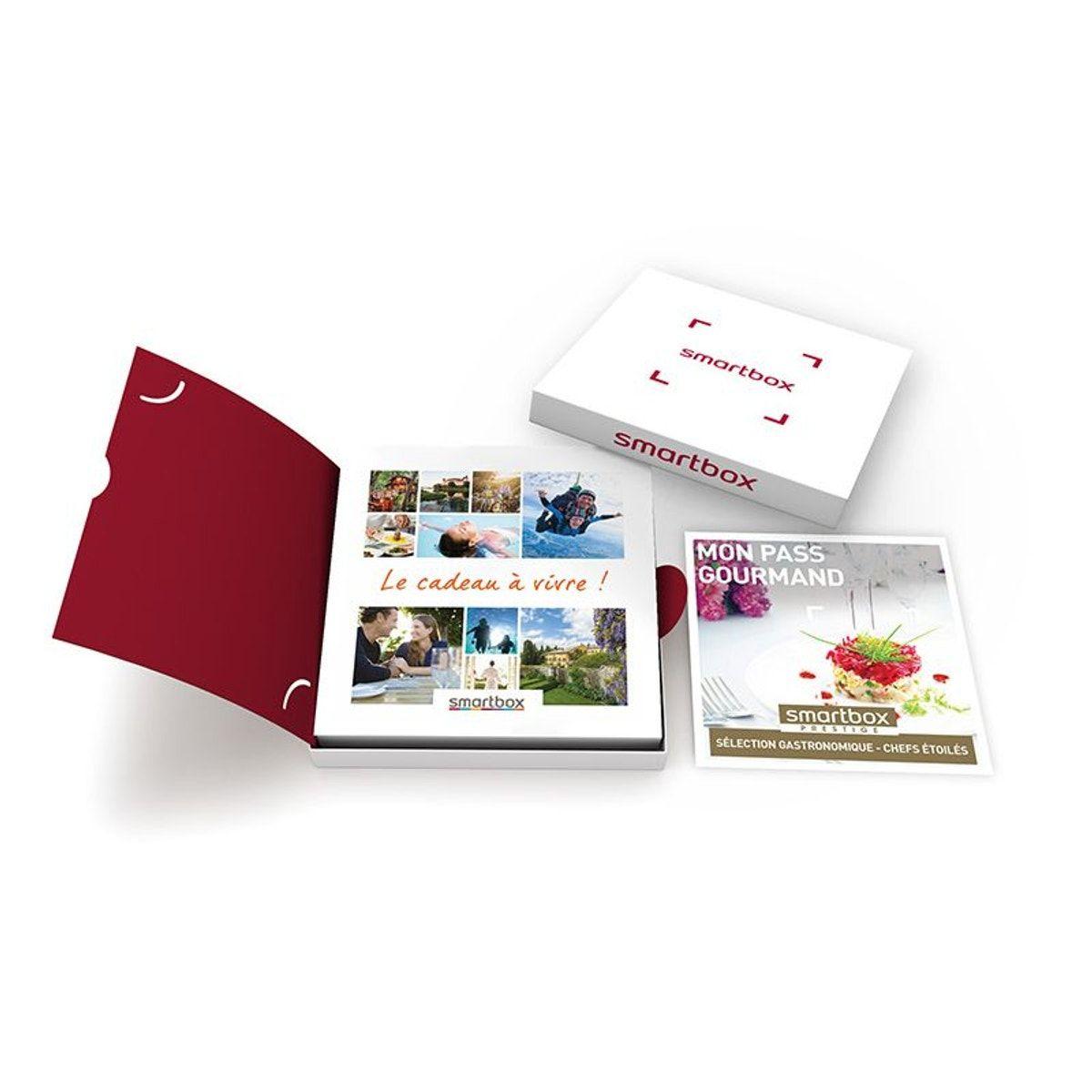 Selection Gastronomique Chefs Etoiles Smartbox Coffret Cadeau