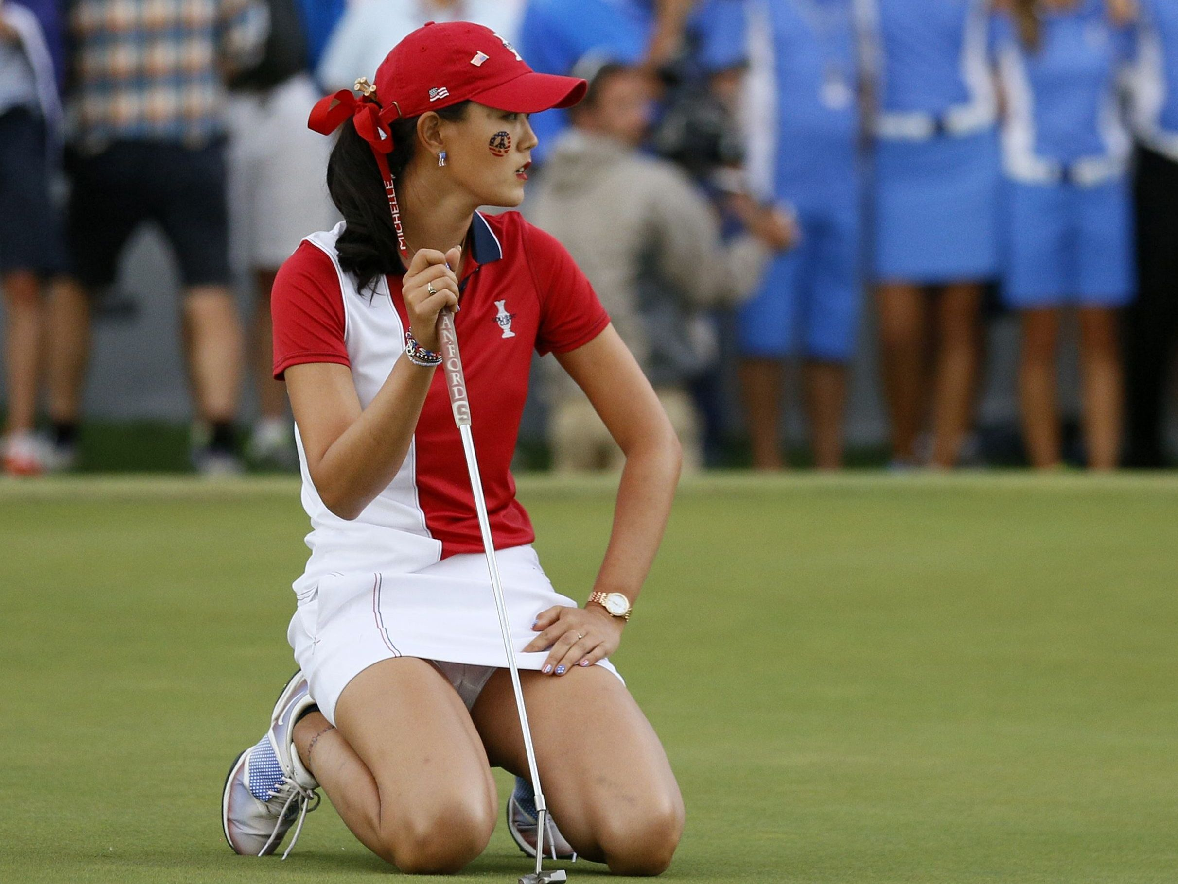 Sorry, golf michelle wie nude for