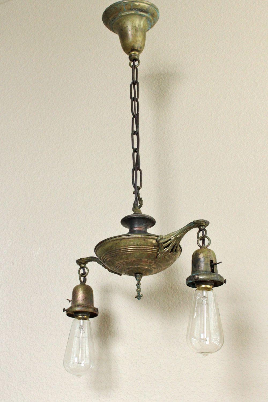 Antique art nouveau light stylish turn of the century decorative antique art nouveau light stylish turn of the century decorative chandelier 16000 via arubaitofo Image collections