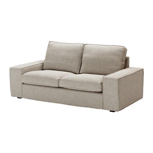 KIVIK Loveseat - Tenö light gray - IKEA I want this for my new