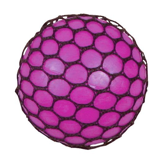 Fiddle Stress Sensory Autism ADHD Squishy Mesh Ball Sensory Toy