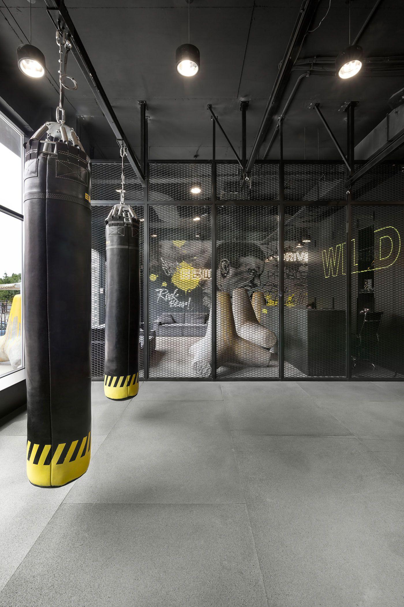 Ebsh Odessa On Behance Gym Architecture Gym Interior Gym Design Interior