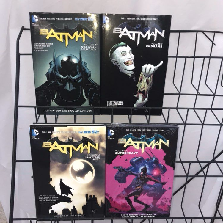 Cool Item New 52 Batman Hardcover Volumes 4 6 8 With Images