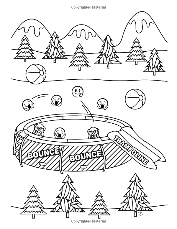 Amazon Com Camp Stuff 24 Page Coloring Book 24 Totally Awesome Coloring Pages 9781523936618 Dani Kates Love Coloring Pages Coloring Pages Coloring Books