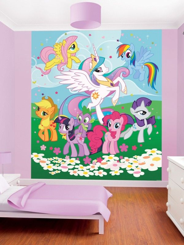 My Little Pony Mural bedroom picture