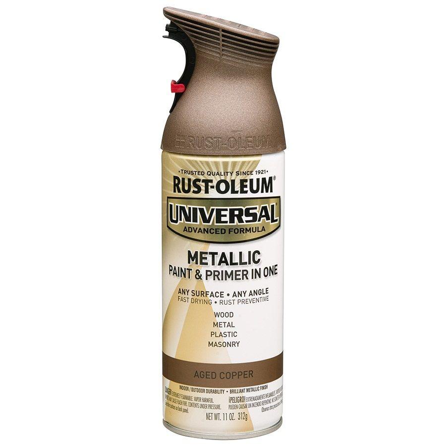 Rust-Oleum Universal Universal Aged Metal Aged Copper Metallic ...